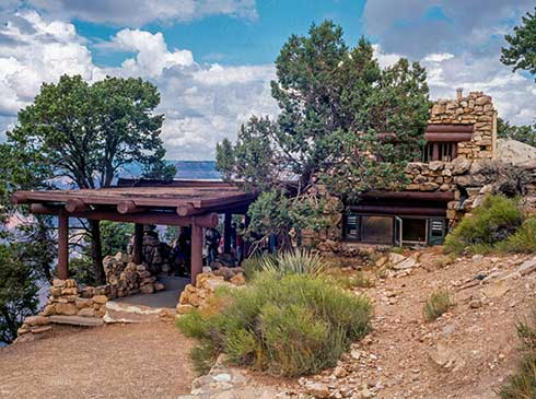 Mary Colter' Hermits Rest at Grand Canyon National Park