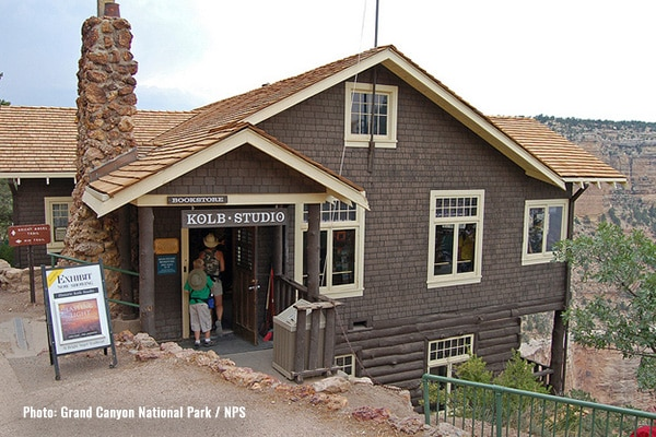 Kolb Brothers Studio at the Grand Canyon
