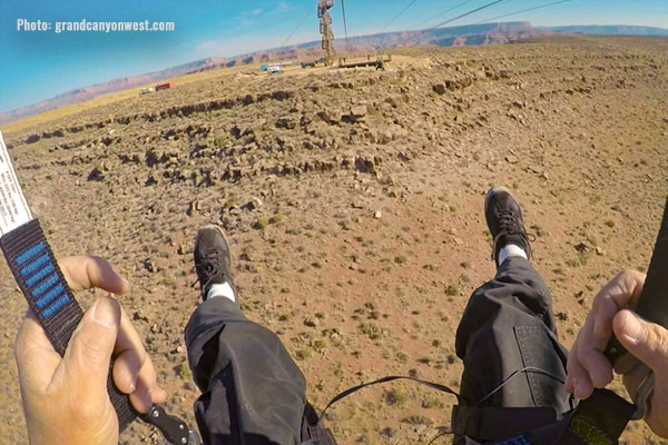 Zip Line at Grand Canyon West