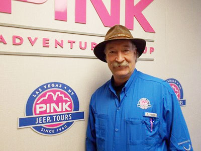 Gary Lehman, geologist and Pink Jeep Las Vegas tour guide