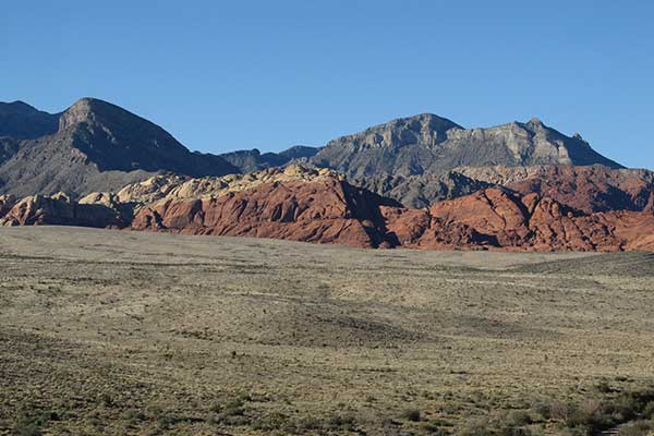 The Wilson Cliffs, Keystone Thrust in Red Rock Canyon, NV