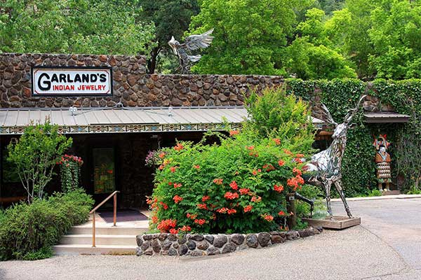Garland's Indian Jewelry storefront, Oak Creek Canyon, AZ