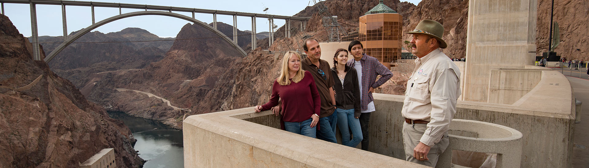 Guided Hoover Dam Tour From Las Vegas | Pink® Jeep® Tours