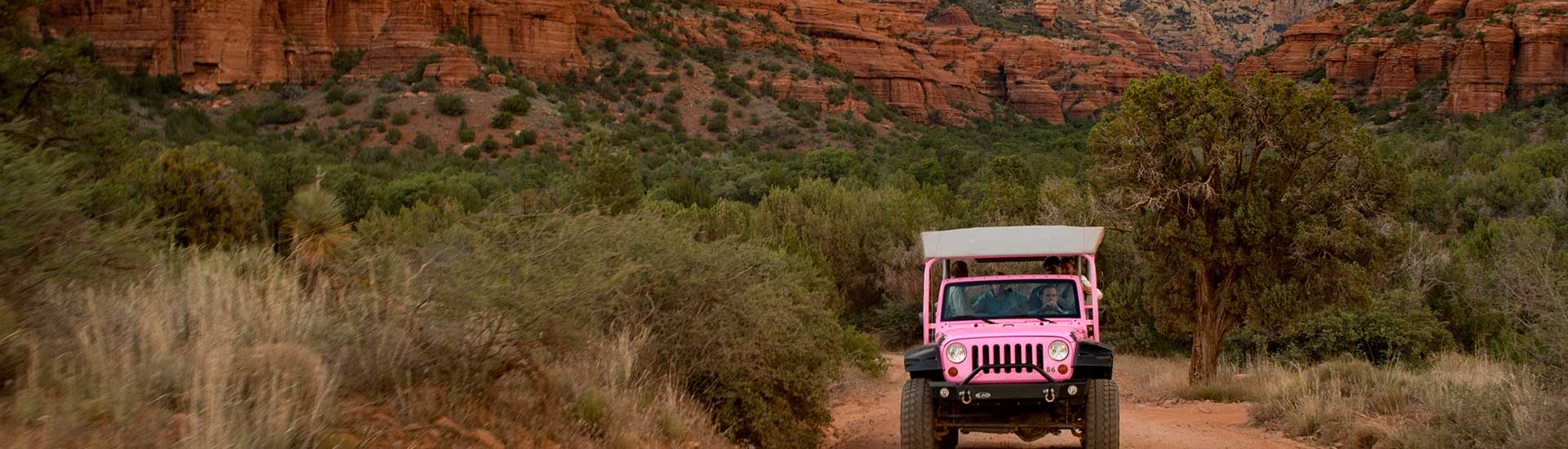 Sedona Jeep Tours - Red Rock Range | Pink® Jeep® Tours