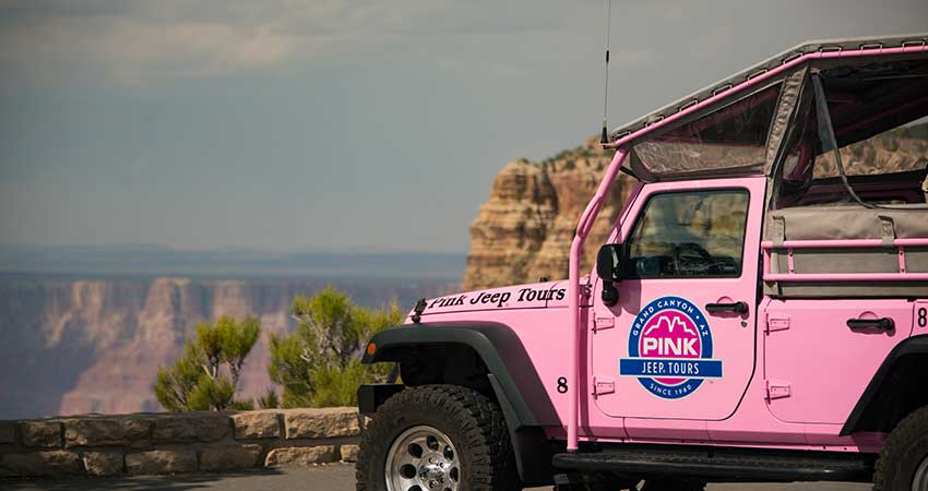 Pink Jeep Grand Finale Tour