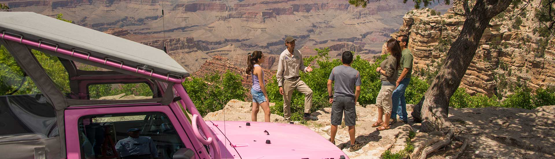Pink Jeep Grand Canyon Sunset Tour