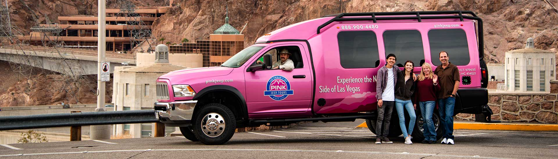 Hoover Dam and Grand Canyon Tours | Pink® Jeep® Tours
