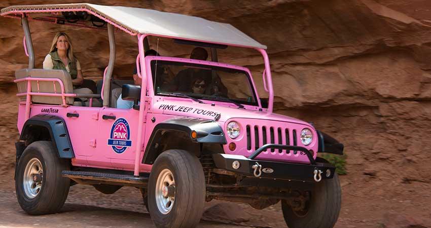 Sedona Scenic Rim Off Road Jeep Tour Pink 174 Jeep 174 Tours