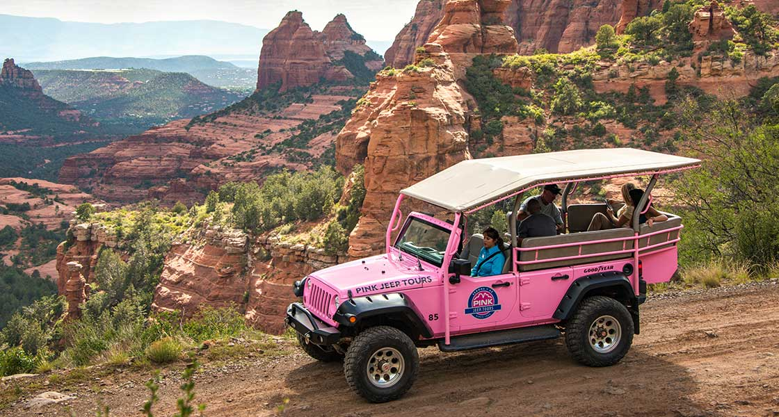 The Best Jeep Tours In Sedona Pink Jeep Tours